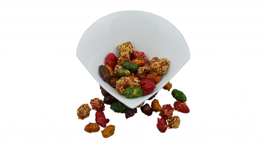 Caramelized mixed Nuts